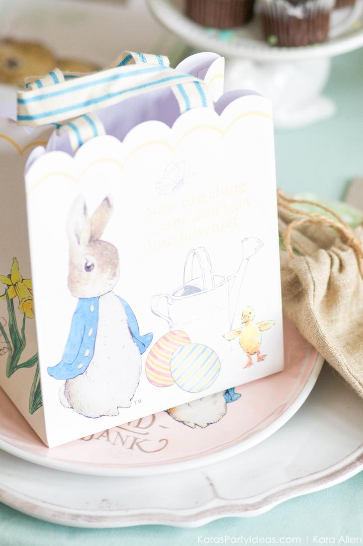 Spring Easter Party with Peter Rabbit and Friends via Kara's Party Ideas | KarasPartyIdeas.com Pottery Barn-63