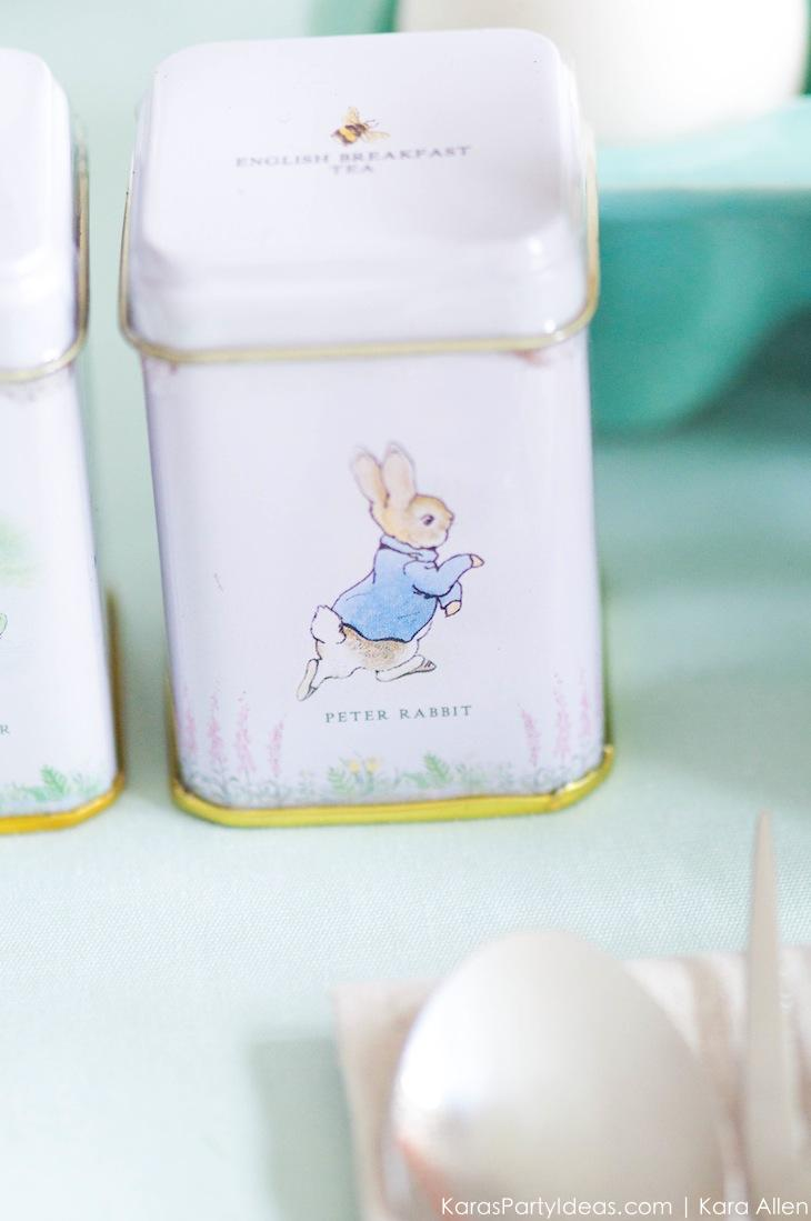 Spring Easter Party with Peter Rabbit and Friends via Kara's Party Ideas | KarasPartyIdeas.com Pottery Barn-67
