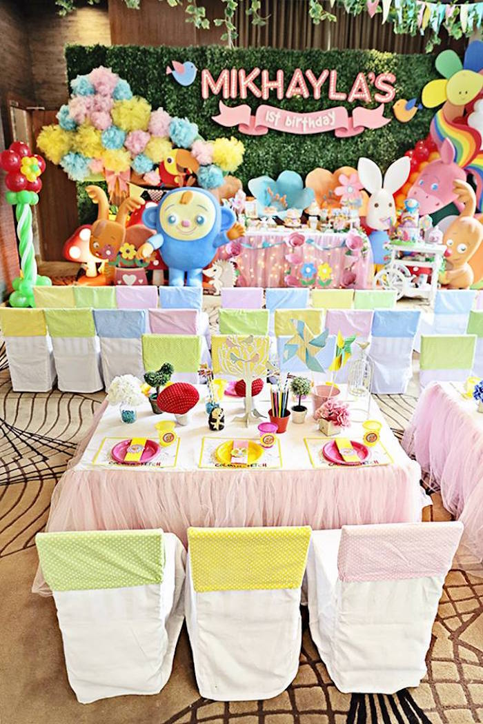 Karas Party Ideas Sunny Garden 1st Birthday Party Karas Party Ideas