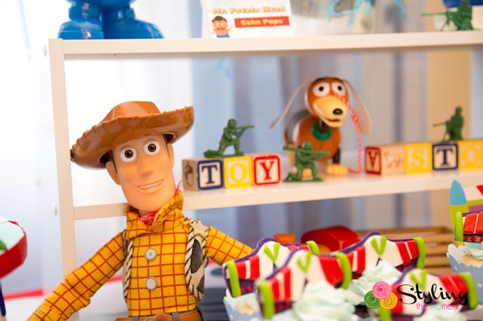 Woody + Decor from a Toy Story Themed Birthday Party via Kara's Party Ideas | The Place for All Things Party! KarasPartyIdeas.com (17)