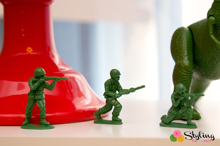 Army Men Decor from a Toy Story Themed Birthday Party via Kara's Party Ideas | The Place for All Things Party! KarasPartyIdeas.com (13)