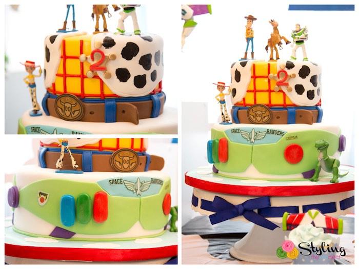 Happy Birthday Cake Banner birthday party cake decorations Toy Story