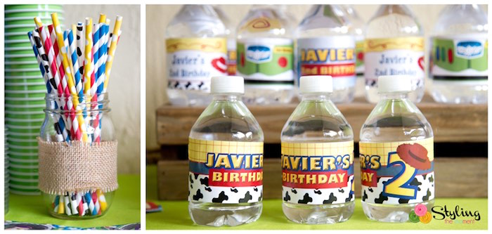 Drinks from a Toy Story Themed Birthday Party via Kara's Party Ideas | The Place for All Things Party! KarasPartyIdeas.com (7)