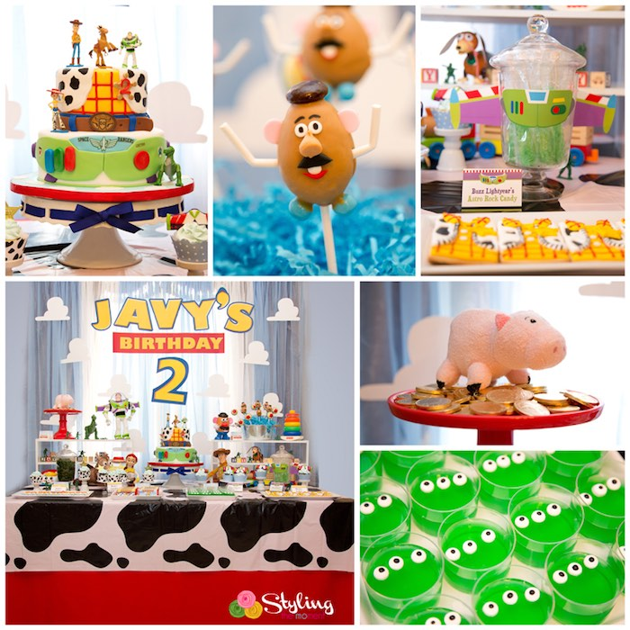 Toy Story Party Ideas Decorations : Kara s party ideas toy story themed birthday
