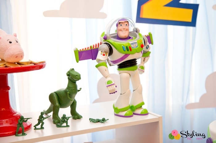 Buzz + Rex + Army Men from a Toy Story Themed Birthday Party via Kara's Party Ideas | The Place for All Things Party! KarasPartyIdeas.com (32)