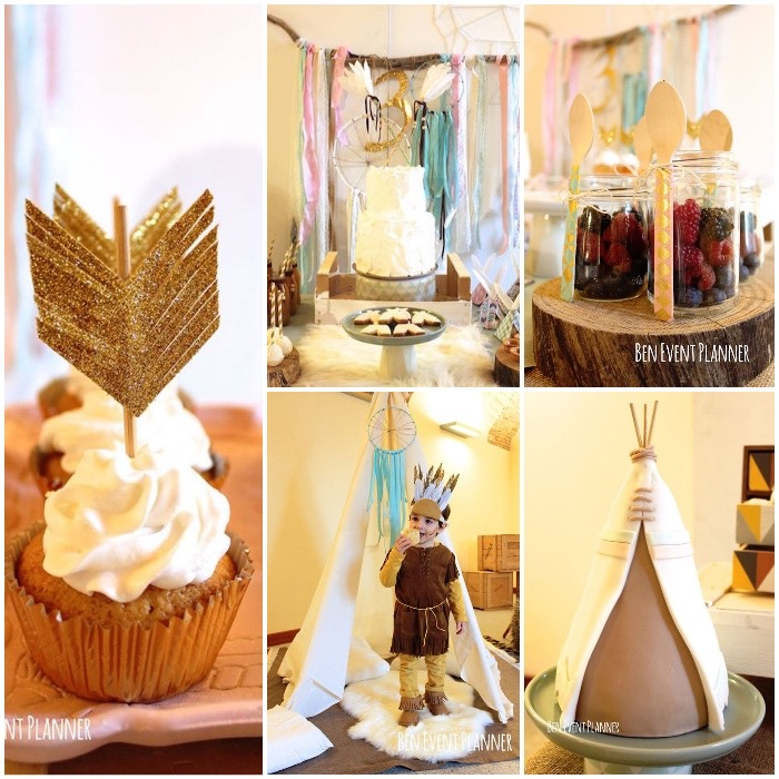 Teepee Cake Decorations