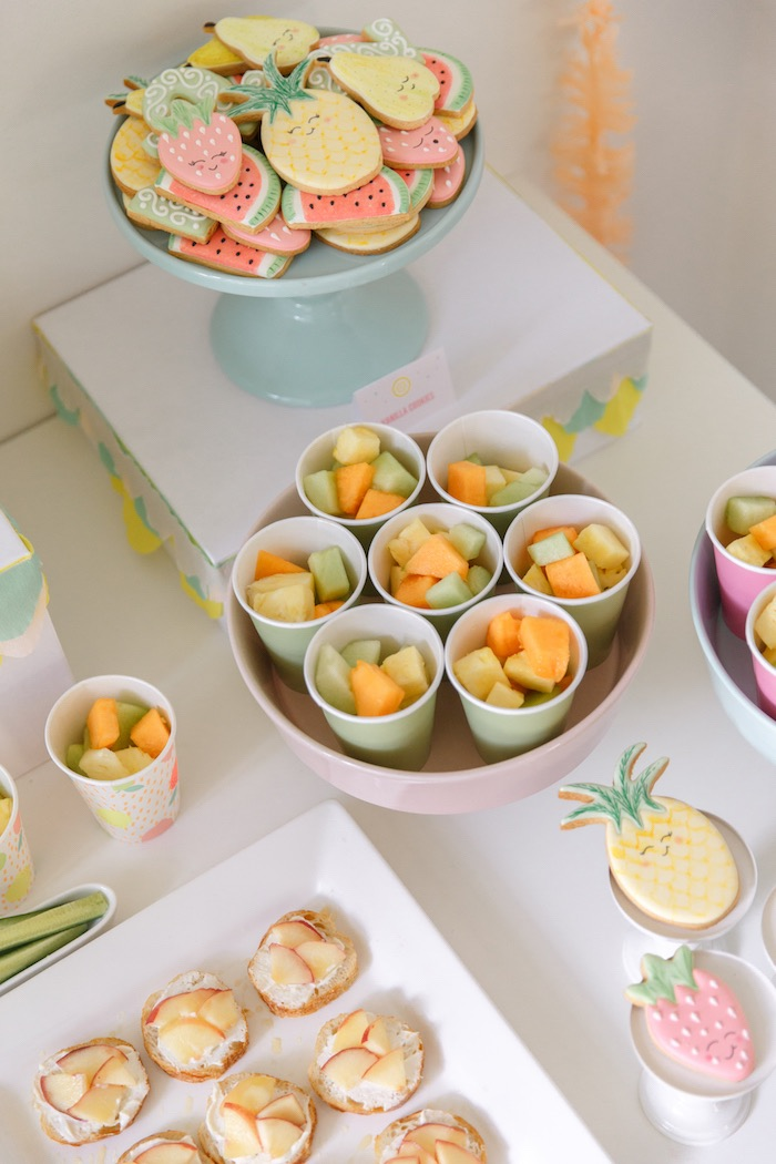 Sweet Details from a Tutti Frutti Birthday Party via Kara's Party Ideas | KarasPartyIdeas.com (26)