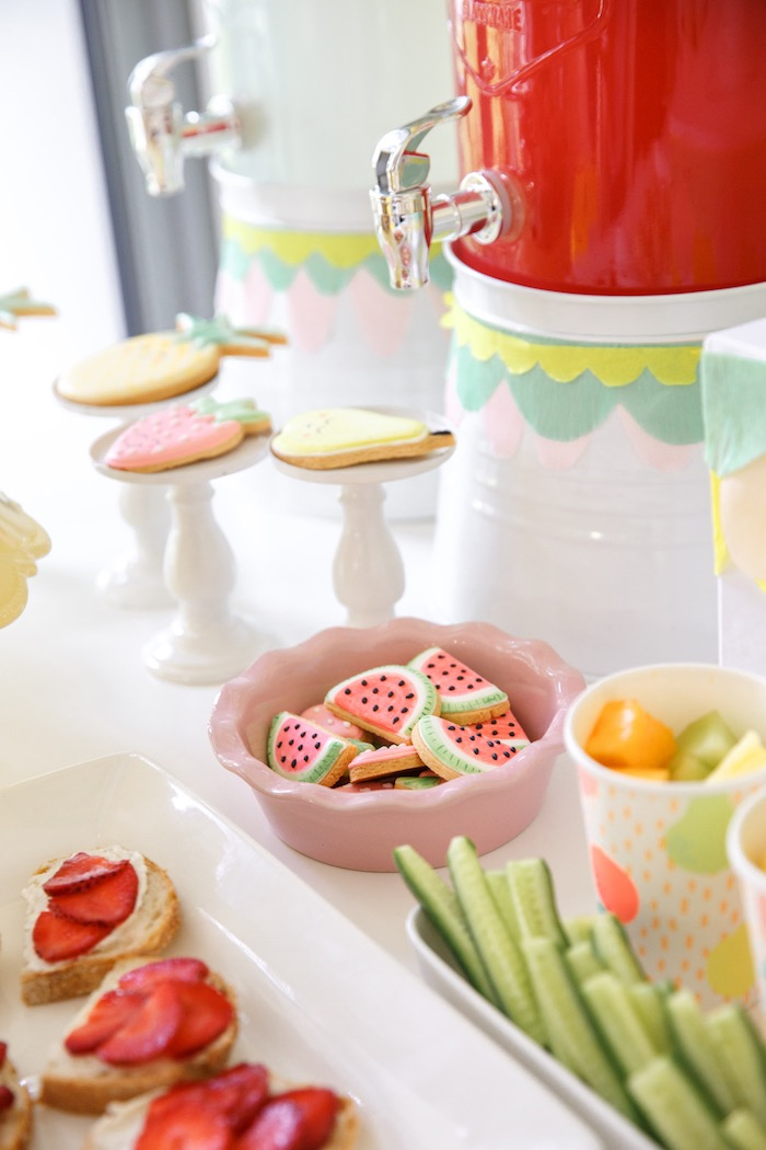 Details from a Tutti Frutti Birthday Party via Kara's Party Ideas | KarasPartyIdeas.com (22)