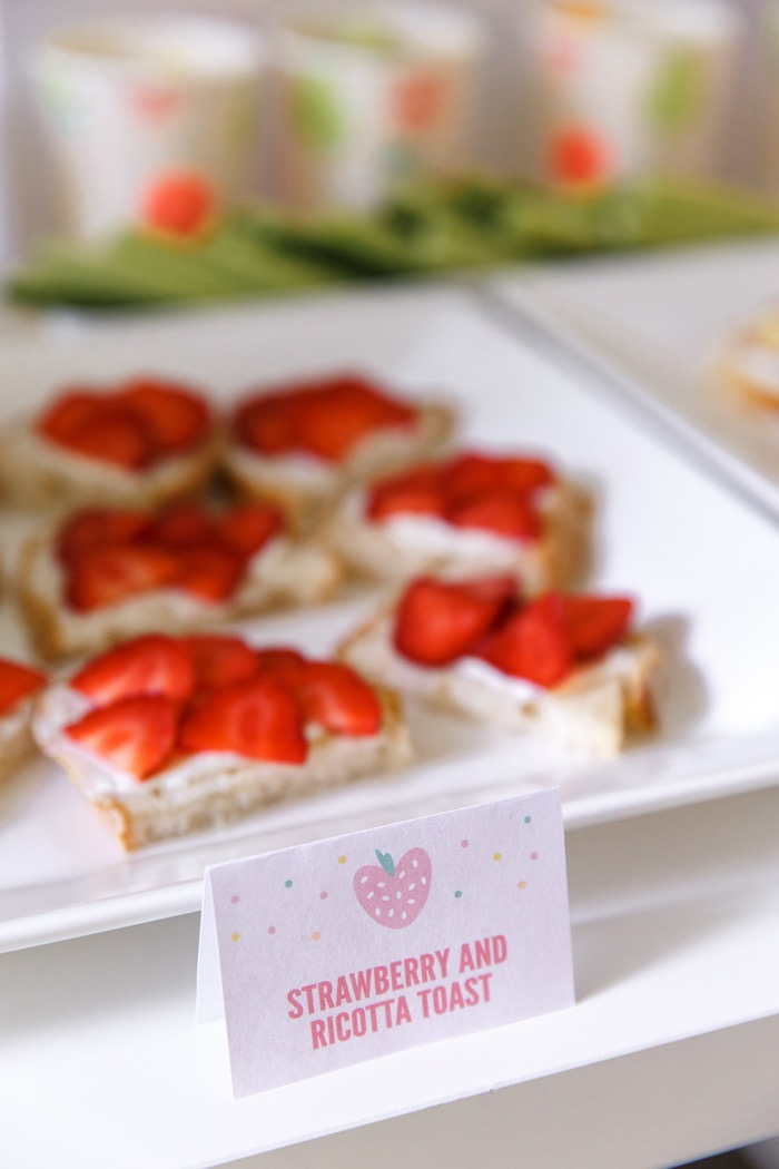 Sweet Label from a Tutti Frutti Birthday Party via Kara's Party Ideas | KarasPartyIdeas.com (21)