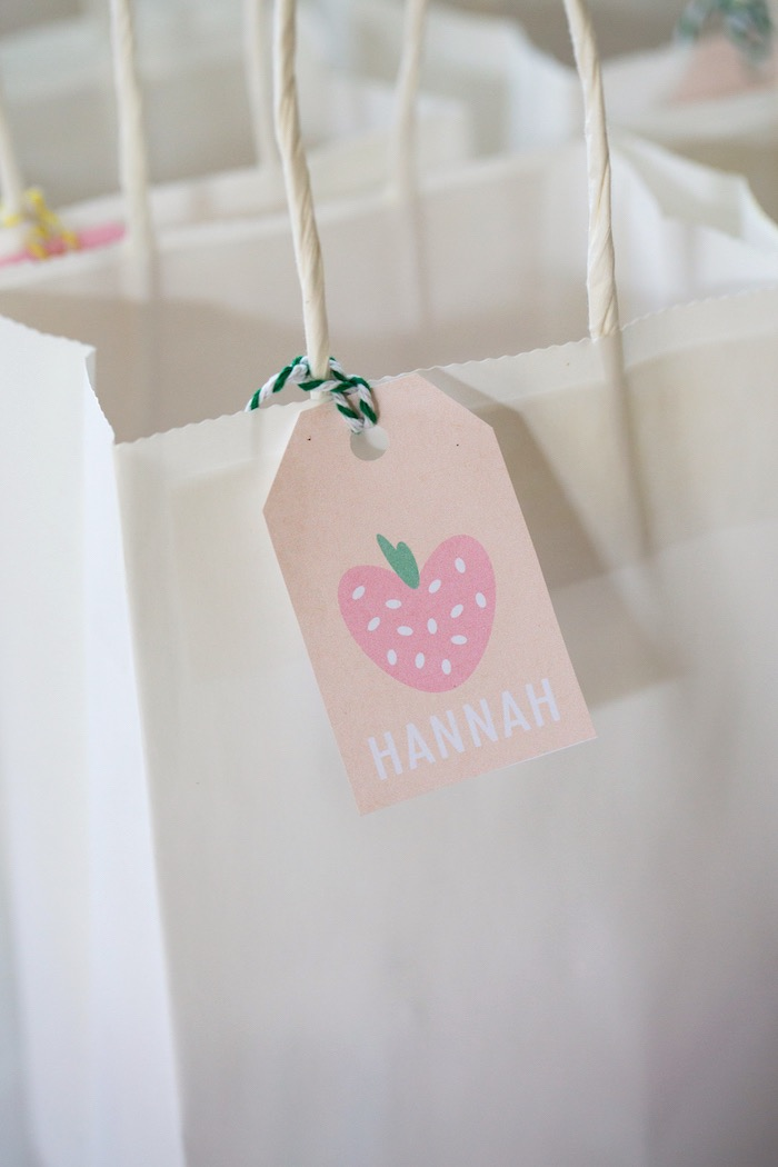 Favor Bag Tag from a Tutti Frutti Birthday Party via Kara's Party Ideas | KarasPartyIdeas.com (14)