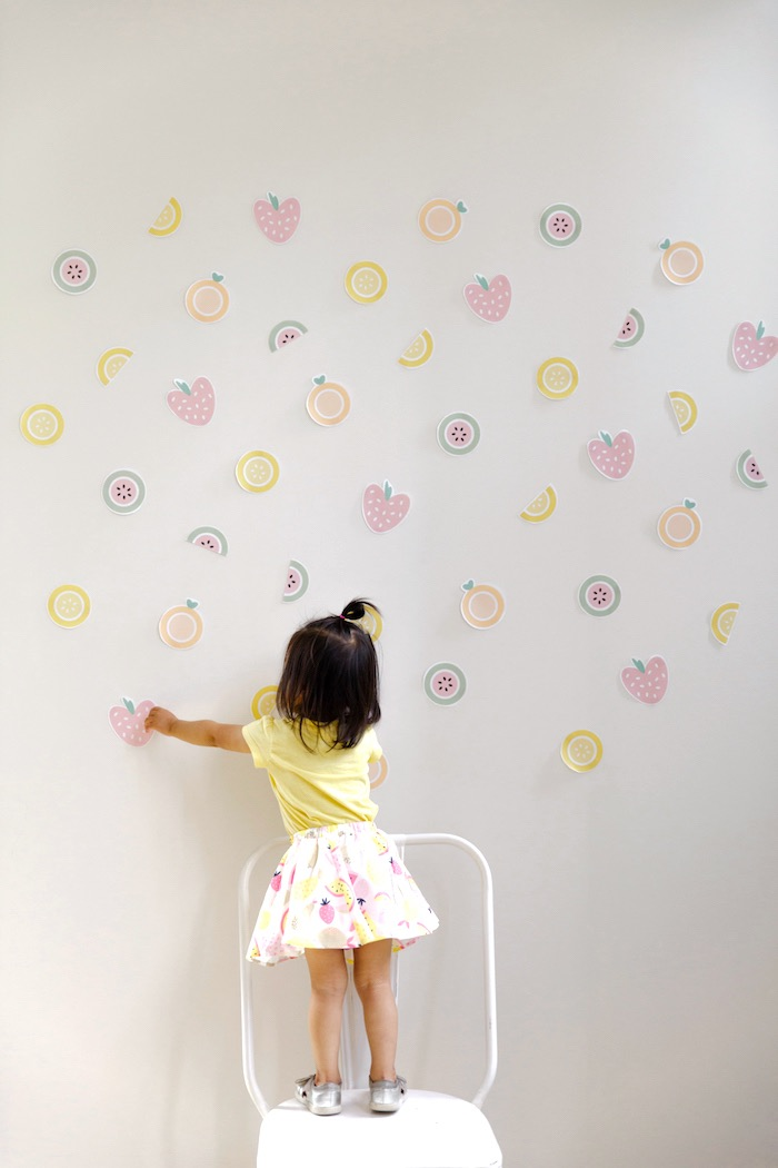Fruit Backdrop from a Tutti Frutti Birthday Party via Kara's Party Ideas | KarasPartyIdeas.com (40)