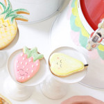 Cookies from a Tutti Frutti Birthday Party via Kara's Party Ideas | KarasPartyIdeas.com (3)