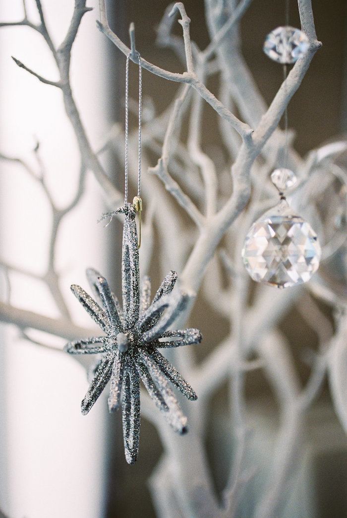 Ornament from a Winter ONEderland Birthday Party via Kara's Party Ideas KarasPartyIdeas.com (22)