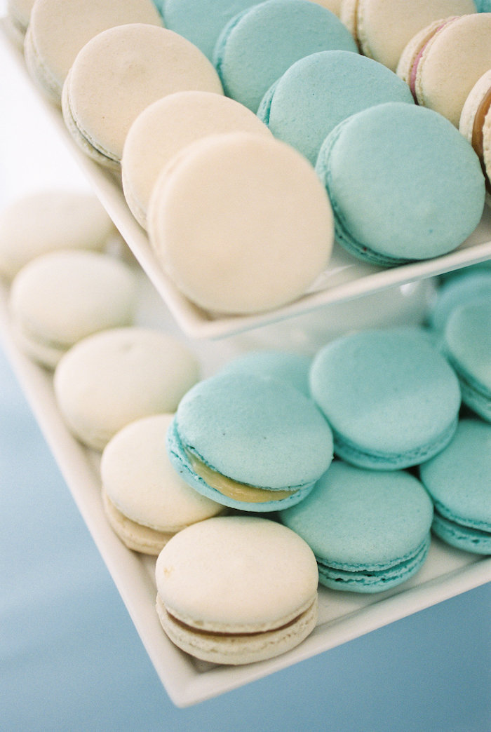 Macarons from a Winter ONEderland Birthday Party via Kara's Party Ideas KarasPartyIdeas.com (15)