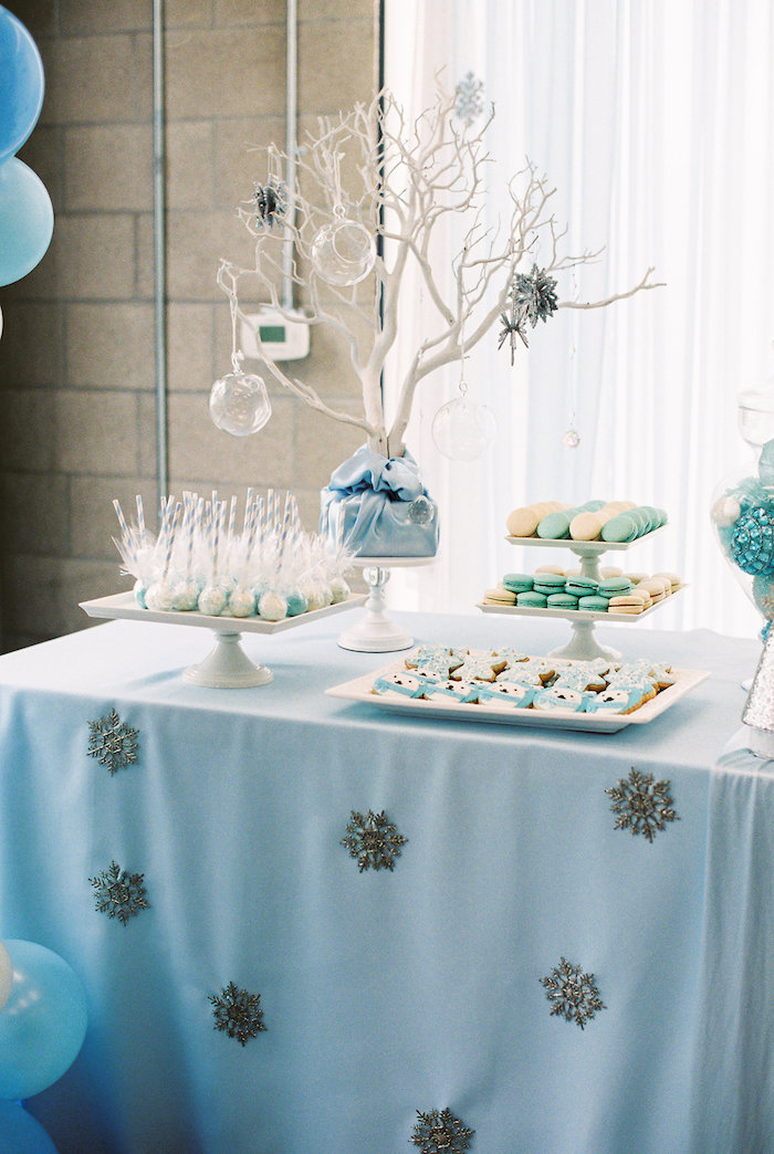 Kara's Party Ideas Arctic Winter ONEderland Birthday Party ...
