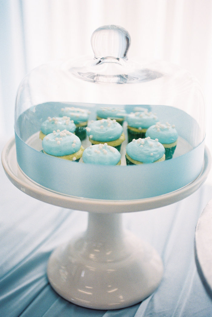 Cupcakes from a Winter ONEderland Birthday Party via Kara's Party Ideas KarasPartyIdeas.com (10)