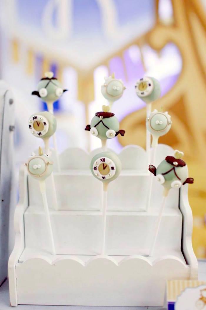 Wedding Cake Pops 75 Vintage Cake Pops from a