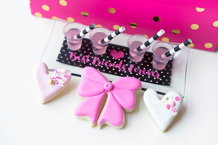 Sweets Treats from an American Girl Doll BFF Party: Inspired by Kate Spade via Kara's Party Ideas | KarasPartyIdeas.com (22)