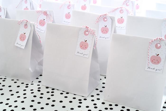 Favor Sacks from an Apple of my Eye Themed Birthday Party via Kara's Party Ideas |KarasPartyIdeas.com (14)