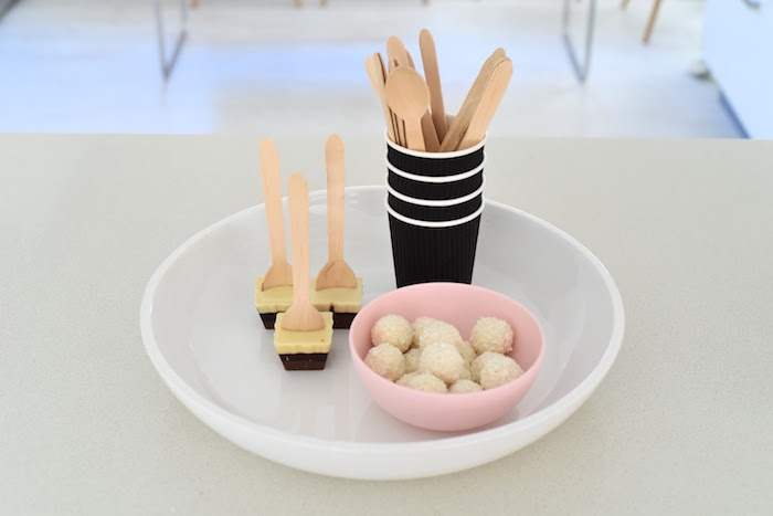 Wooden Utensils + Sweets from an Apple of my Eye Themed Birthday Party via Kara's Party Ideas |KarasPartyIdeas.com (10)