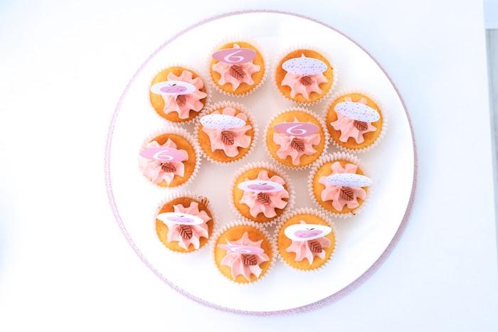 Cupcakes from an Apple of my Eye Themed Birthday Party via Kara's Party Ideas |KarasPartyIdeas.com (18)