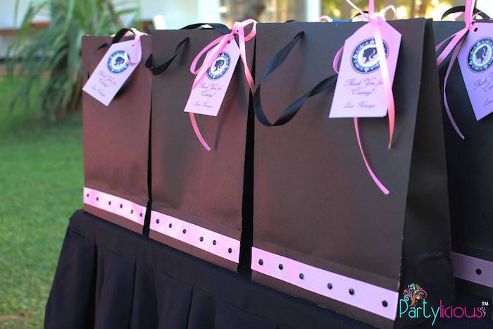 Favor Bags from a Barbie Fashion Birthday Party via Kara's Party Ideas |The Place for All Things Party! KarasPartyIdeas.com (33)