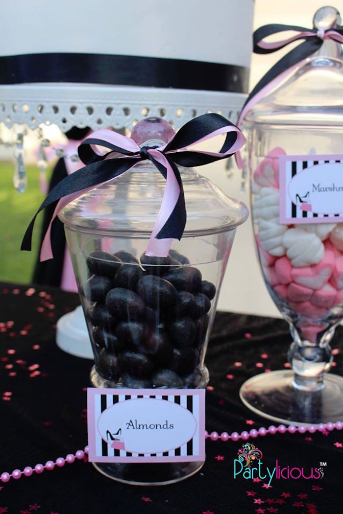 Almonds from a Barbie Fashion Birthday Party via Kara's Party Ideas |The Place for All Things Party! KarasPartyIdeas.com (25)