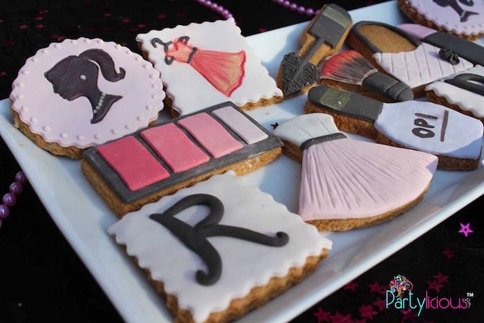 Cookies from a Barbie Fashion Birthday Party via Kara's Party Ideas |The Place for All Things Party! KarasPartyIdeas.com (24)