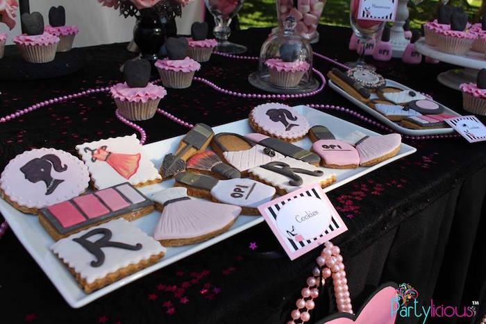 Cookies from a Barbie Fashion Birthday Party via Kara's Party Ideas |The Place for All Things Party! KarasPartyIdeas.com (18)