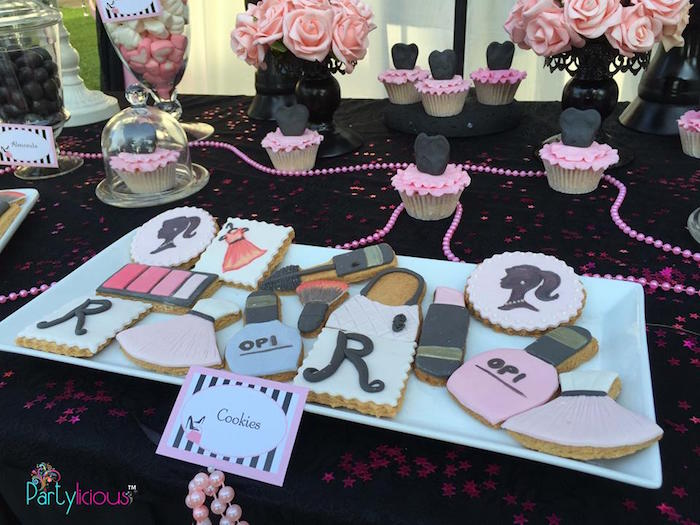 Cookies from a Barbie Fashion Birthday Party via Kara's Party Ideas |The Place for All Things Party! KarasPartyIdeas.com (17)