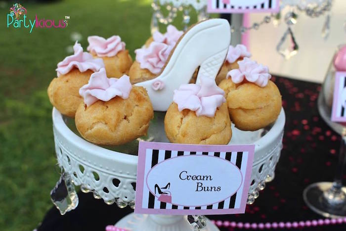 Cream Puffs from a Barbie Fashion Birthday Party via Kara's Party Ideas |The Place for All Things Party! KarasPartyIdeas.com (44)