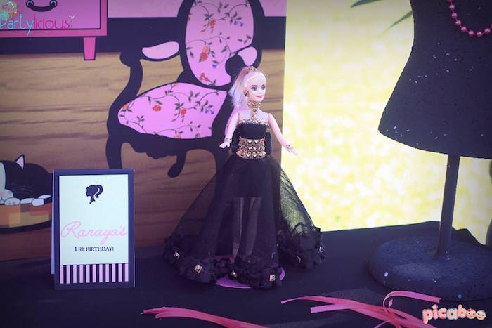 Decor from a Barbie Fashion Birthday Party via Kara's Party Ideas |The Place for All Things Party! KarasPartyIdeas.com (40)