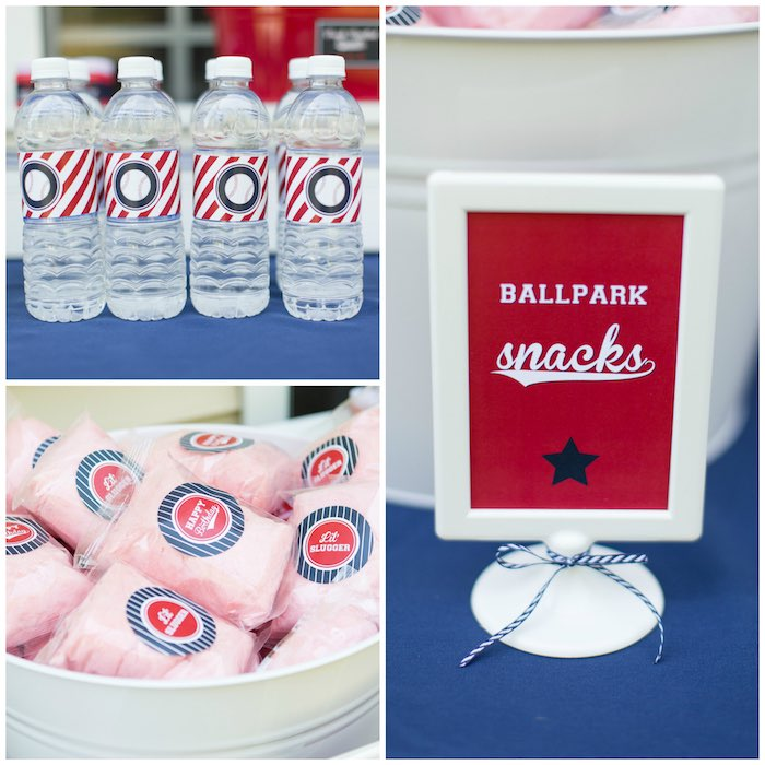 Ballpark Snacks from a Baseball Birthday Party via Kara's Party Ideas | KarasPartyIdeas.com (9)