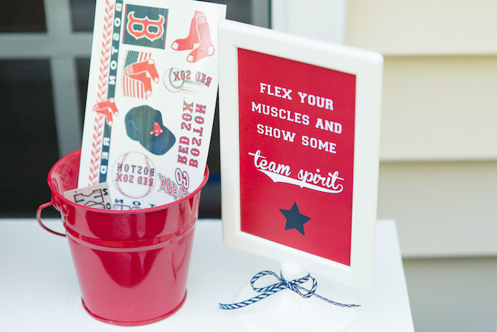 Stickers for Guests from a Baseball Birthday Party via Kara's Party Ideas | KarasPartyIdeas.com (8)