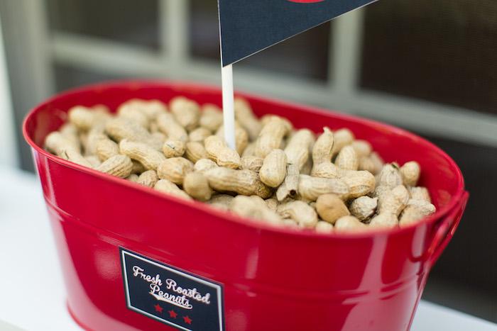 Fresh Roasted Peanuts from a Baseball Birthday Party via Kara's Party Ideas | KarasPartyIdeas.com (6)