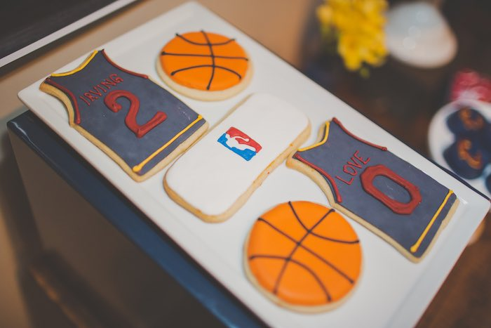 Cookies from a Basketball Birthday Party via Kara's Party Ideas KarasPartyIdeas.com (16)