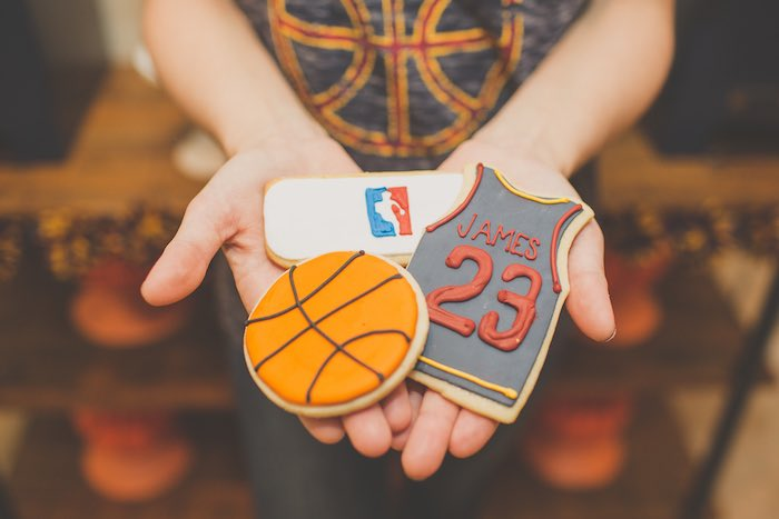 Cookies from a Basketball Birthday Party via Kara's Party Ideas KarasPartyIdeas.com (4)