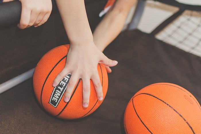 Basketballs from a Basketball Birthday Party via Kara's Party Ideas KarasPartyIdeas.com (31)