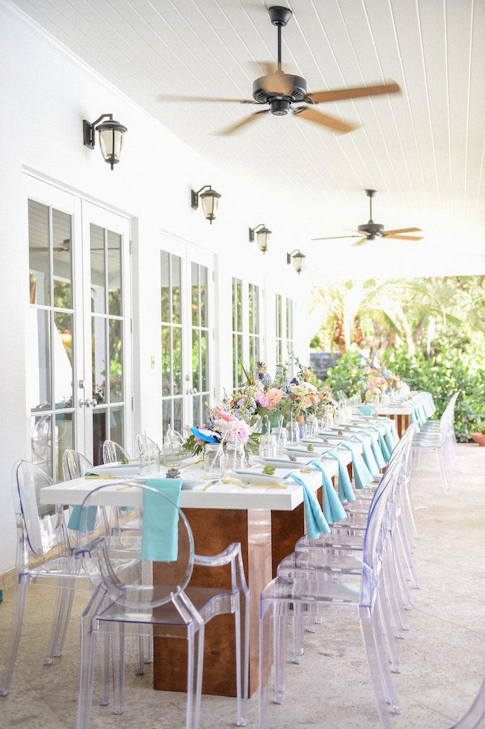 such gorgeous details are to be found in this chic boho baby shower