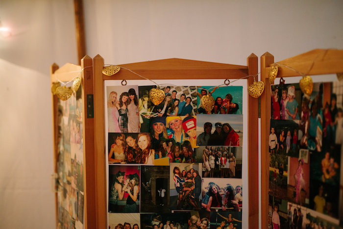 Photo Collage Divider from a Bollywood Black Tie Birthday Party via Kara's Party Ideas KarasPartyIdeas.com (11)