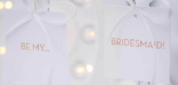 Drink Tags from a Bridesmaid Reveal Party via Kara's Party Ideas | KarasPartyIdeas.com (1)