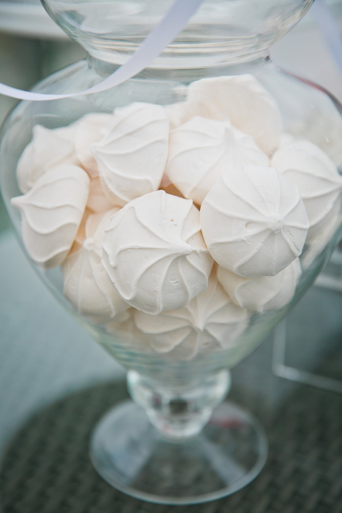 Meringues from a Bridesmaid Reveal Party via Kara's Party Ideas | KarasPartyIdeas.com (18)