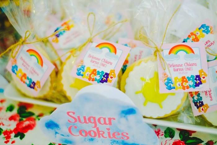 Sugar Cookies from a Care Bears Themed Birthday Party via Kara's Party Ideas KarasPartyIdeas.com (26)
