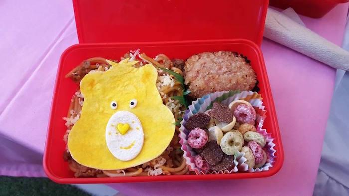 Food Tray from a Care Bears Themed Birthday Party via Kara's Party Ideas KarasPartyIdeas.com (10)