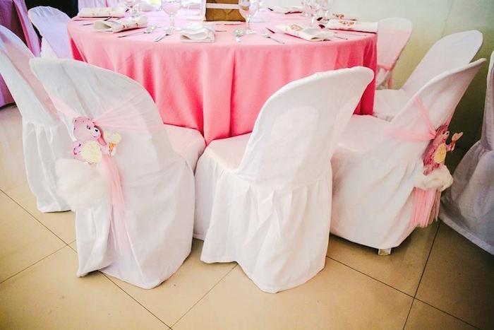 Guest Table from a Care Bears Themed Birthday Party via Kara's Party Ideas KarasPartyIdeas.com (8)