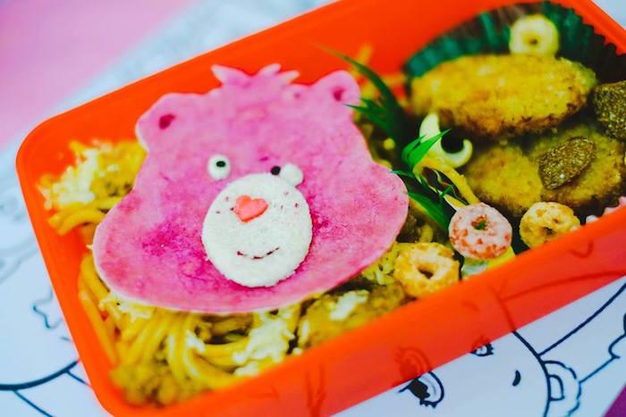 Food Tray from a Care Bears Themed Birthday Party via Kara's Party Ideas KarasPartyIdeas.com (7)