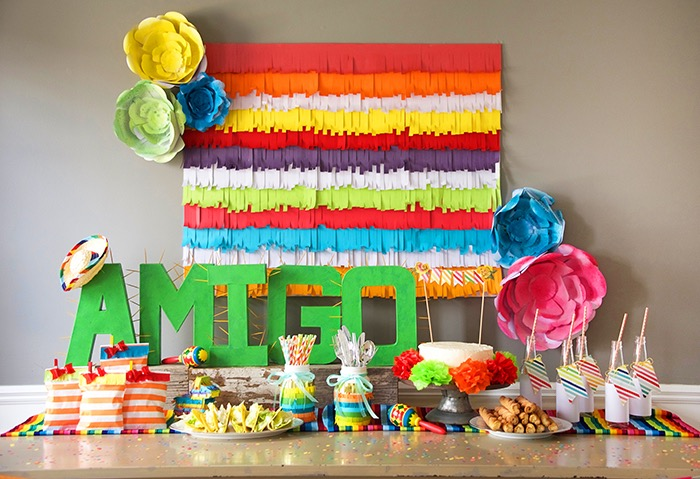Head Table Details from a Cinco de Mayo Themed Birthday Party via Kara's Party Ideas KarasPartyIdeas.com (6)