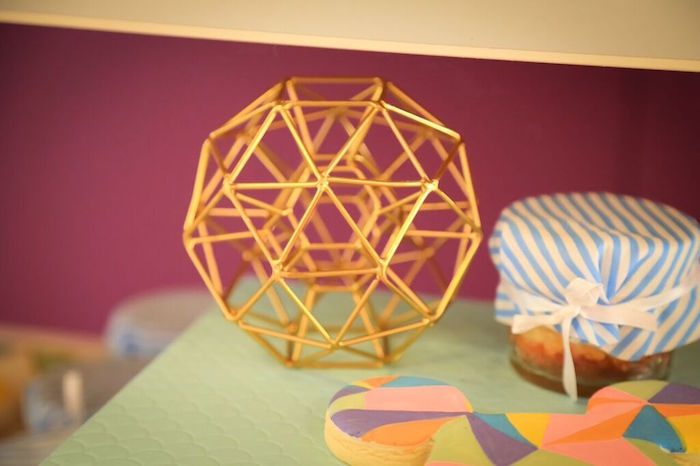 Wire Decor Piece from a Colorful Geometric Mickey Mouse Birthday Party via Kara's Party Ideas KarasPartyIdeas.com (33)