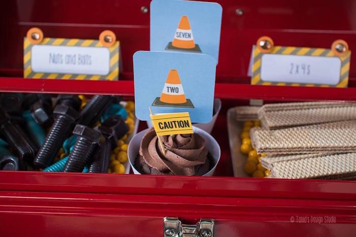 Tool-Box Sweets from a Construction Birthday Party via Kara's Party Ideas! KarasPartyIdeas.com (9)