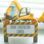 Cookies from a Construction Birthday Party via Kara's Party Ideas! KarasPartyIdeas.com (1)